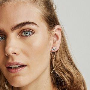 🆕 Kendra Scott - Crosby Stud Earrings in Silver